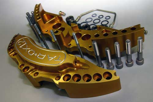 Tarox Brake Conversion Kit with 6 Pot Calipers and 318 x 26mm Discs (Grande Punto/Abarth)