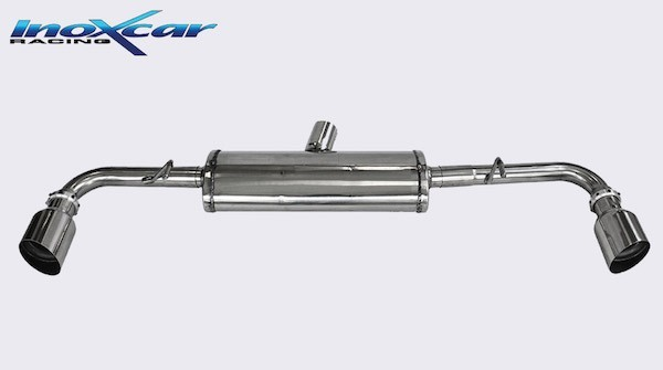 Inoxcar Racing Italia Stainless Steel Sports Exhaust with 100mm Tail Pipes (Alfa Romeo 4C)