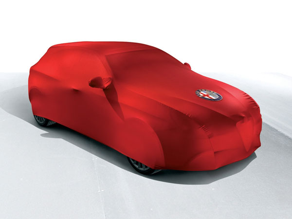 Alfa Giulietta  Red Car Cover - Interior