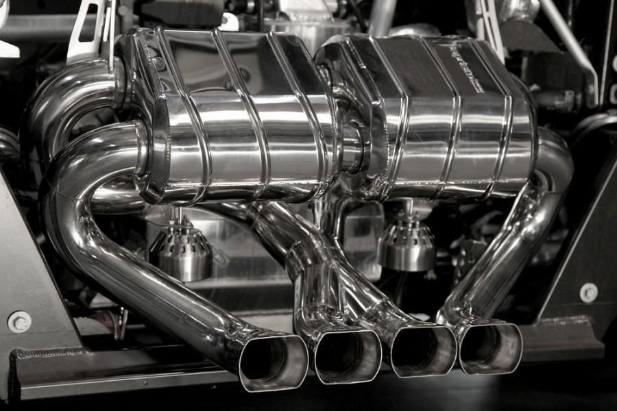 Capristo Stainless Steel Muffler With Valve System Lamborghini Aventador Lp700