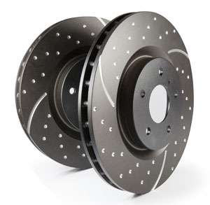 EBC 3GD Dimpled and Slotted Performance Rear Discs 240x11mm (Pair)