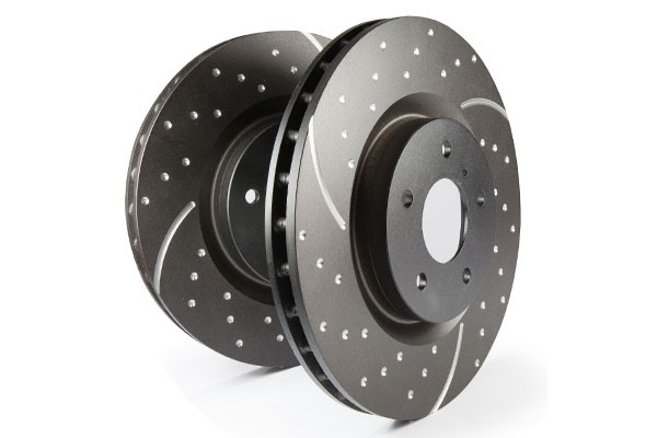 EBC 3GD Dimpled and Slotted Performance Front Discs 284x22mm (Pair) Alfa GTV/Spider 1.8/2.0