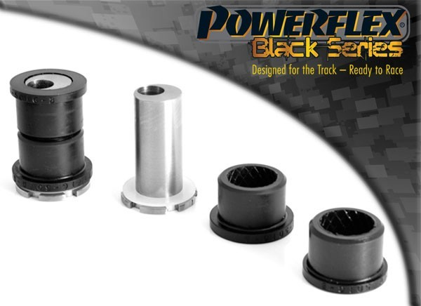 Powerflex Race Front Arm Front Black Series Bushes with Camber Adjust - 2 pieces (Abarth/Fiat 500)