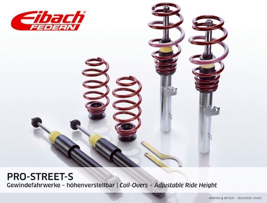 Eibach Coil-Over Suspension Kit inox-line (Fiat 500)