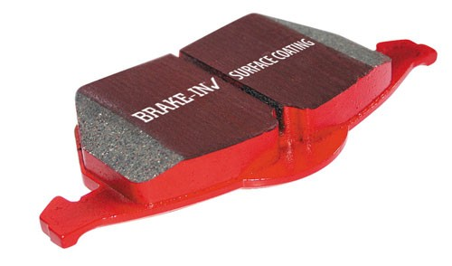 EBC Brake Pads Redstuff Street Pads Complete Front Set