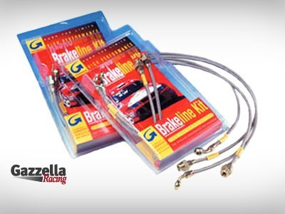 Goodridge Braided Brake Line Kit with Stainless Steel Fittings (Fiat Cinquecento)