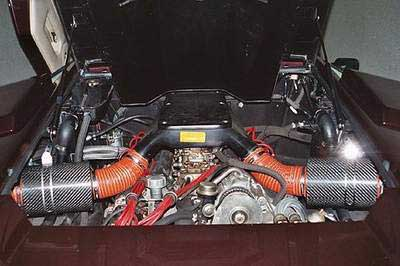 BMC Carbon Dynamic Airbox Performance Kit Lamborghini Countach (Two Air boxes included)