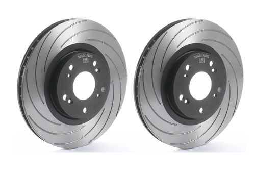 Tarox Slotted F2000 Performance Front Discs 257x22mm (Pair)