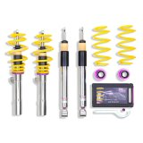 KW Coil-Over Suspension Kit Variant 3 inox-line Alfa Mito Cloverleaf 170 HP with Dynamic Suspension