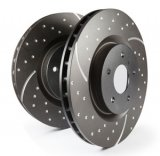 EBC 3GD Dimpled and Slotted Performance Rear Discs 251x10mm (Pair)
