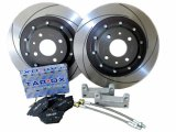 Tarox Brake Rear Kit 284mm x 11mm Discs Abarth 500/595/695