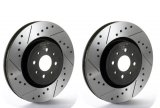 Tarox Drilled and Slotted SJ Upgrade Rear Discs 330x 28mm (Pair) Maserati GranTurismo/Quattroporte with SportPack Brakes