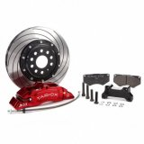 Tarox Brake Upgrade Kit Front with 8 Piston Calipers and 330x26mm Discs Abarth 500 Series