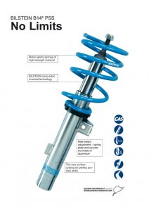 Bilstein Coil-Over Height Adjustable Suspension Kit B14 Alfa Romeo 147/156/GT