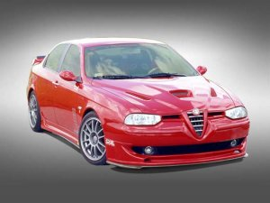 Complete Front Grille Update  Alfa 156 Mk1 (1997-2003)