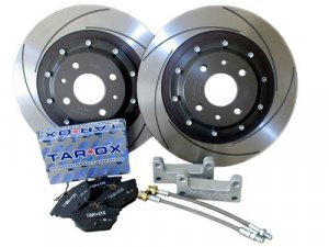 Fiat Coupe 2.0 20v Rear Drilled Grooved Brake Discs