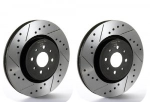 Tarox Drilled and Slotted Sport Japan Front-Discs 330mm (Pair) Alfa Giulia/Stelvio 280 BHP