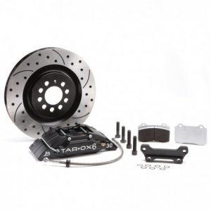 Tarox Brake Conversion Kit with 6 Pot Calipers and 305x28mm Discs Abarth 500